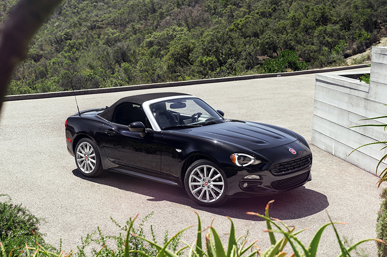 Pictures 2015 Fiat 124 spider Cars Metallic auto automobile
