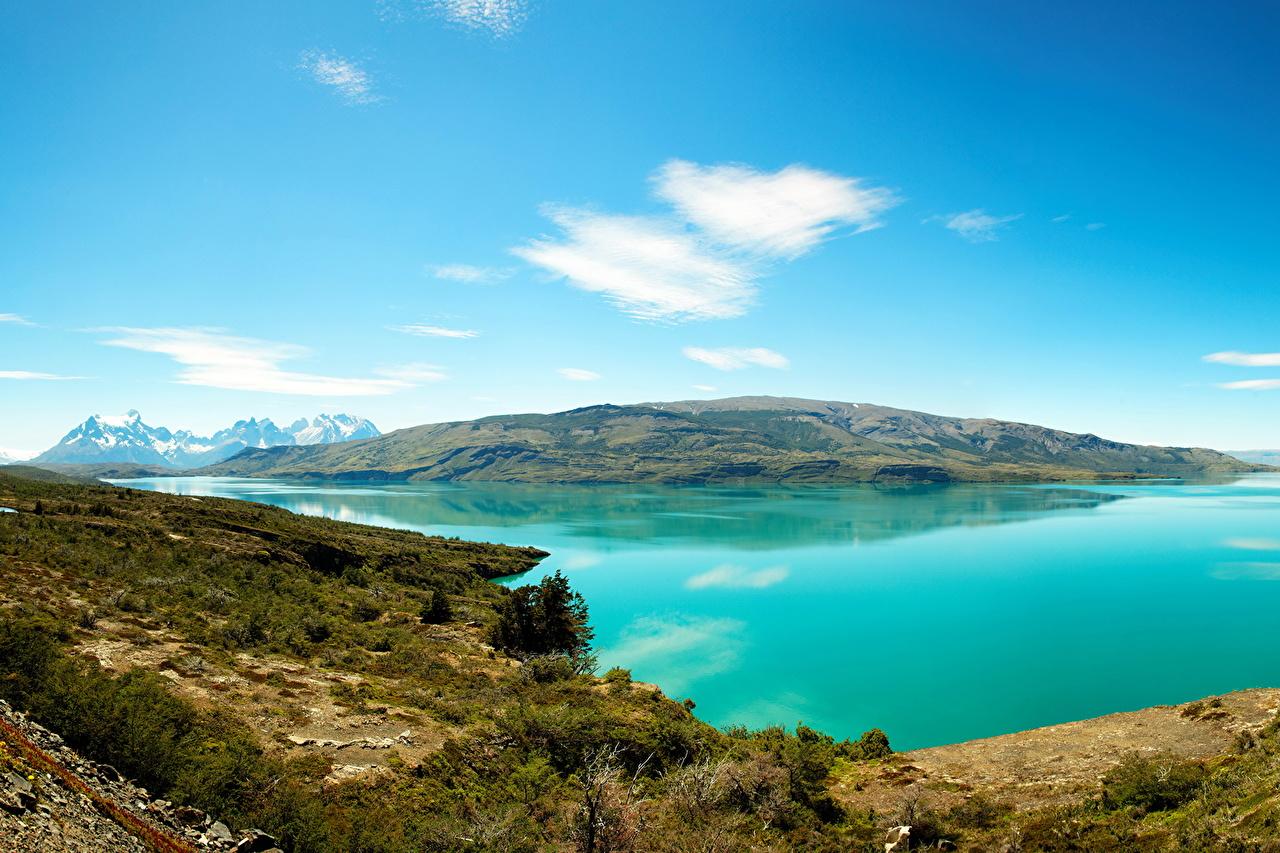 、湖、海岸、風景写真、、自然、