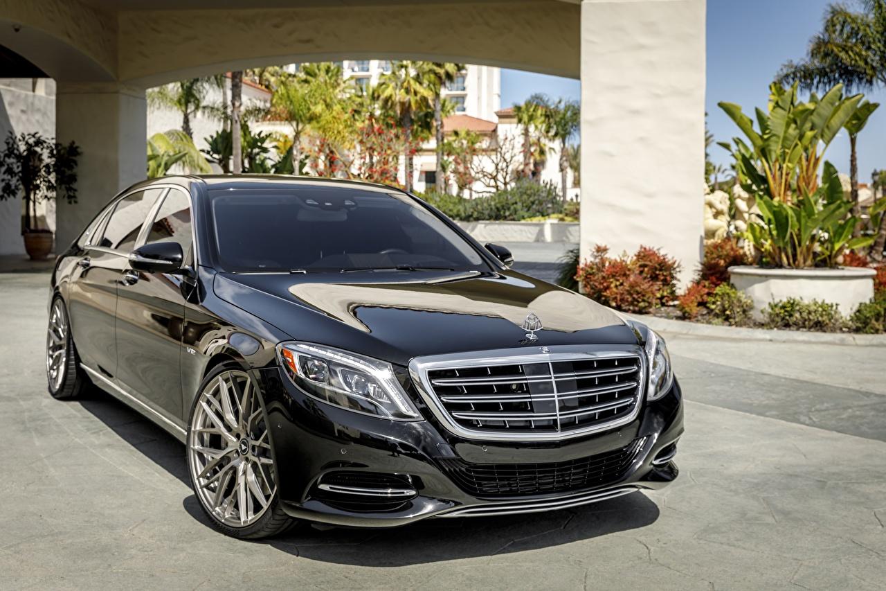 Afbeelding Mercedes-Benz Zwart kleur Auto auto's automobiel