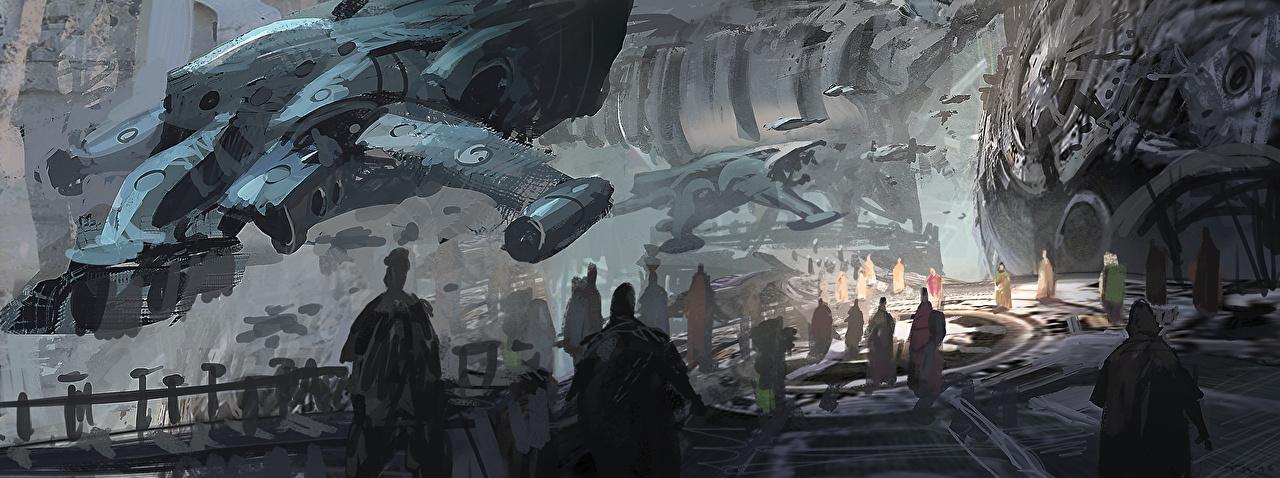 Pictures Fantasy Ships Fantastic world ship