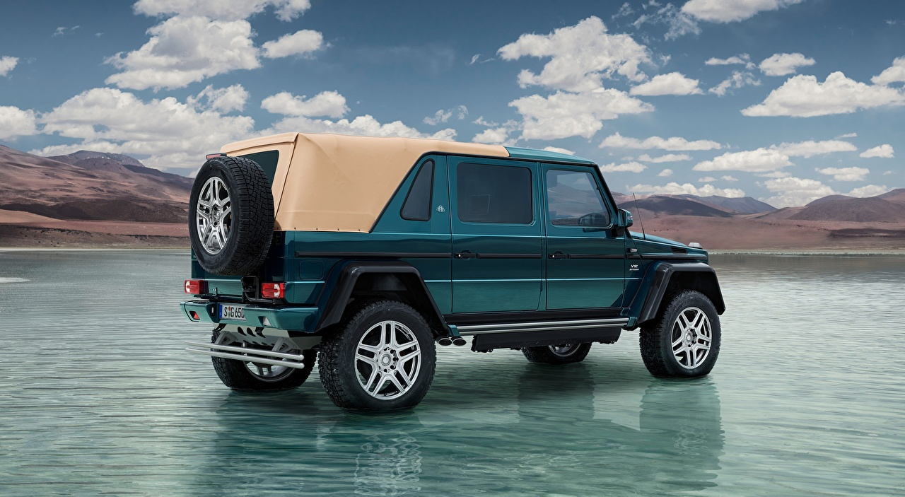 Eau Mercedes-Benz Classe G Maybach G 650, Landaulet, 2017 Latéralement SUV voiture, automobile, Sport utility vehicle Voitures