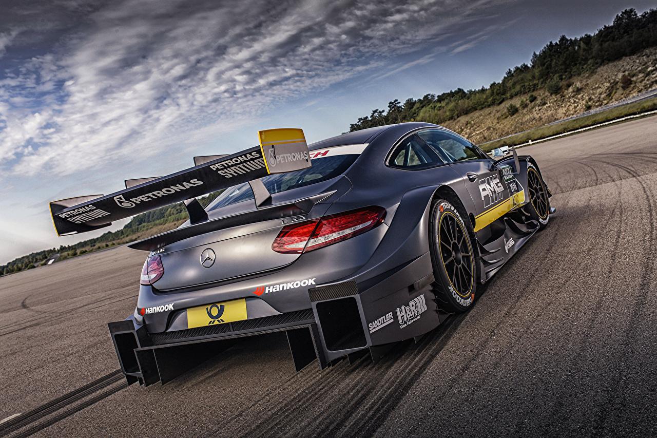 Fonds d'ecran Mercedes-Benz 2014 AMG C 63 Coupe DTM C ...