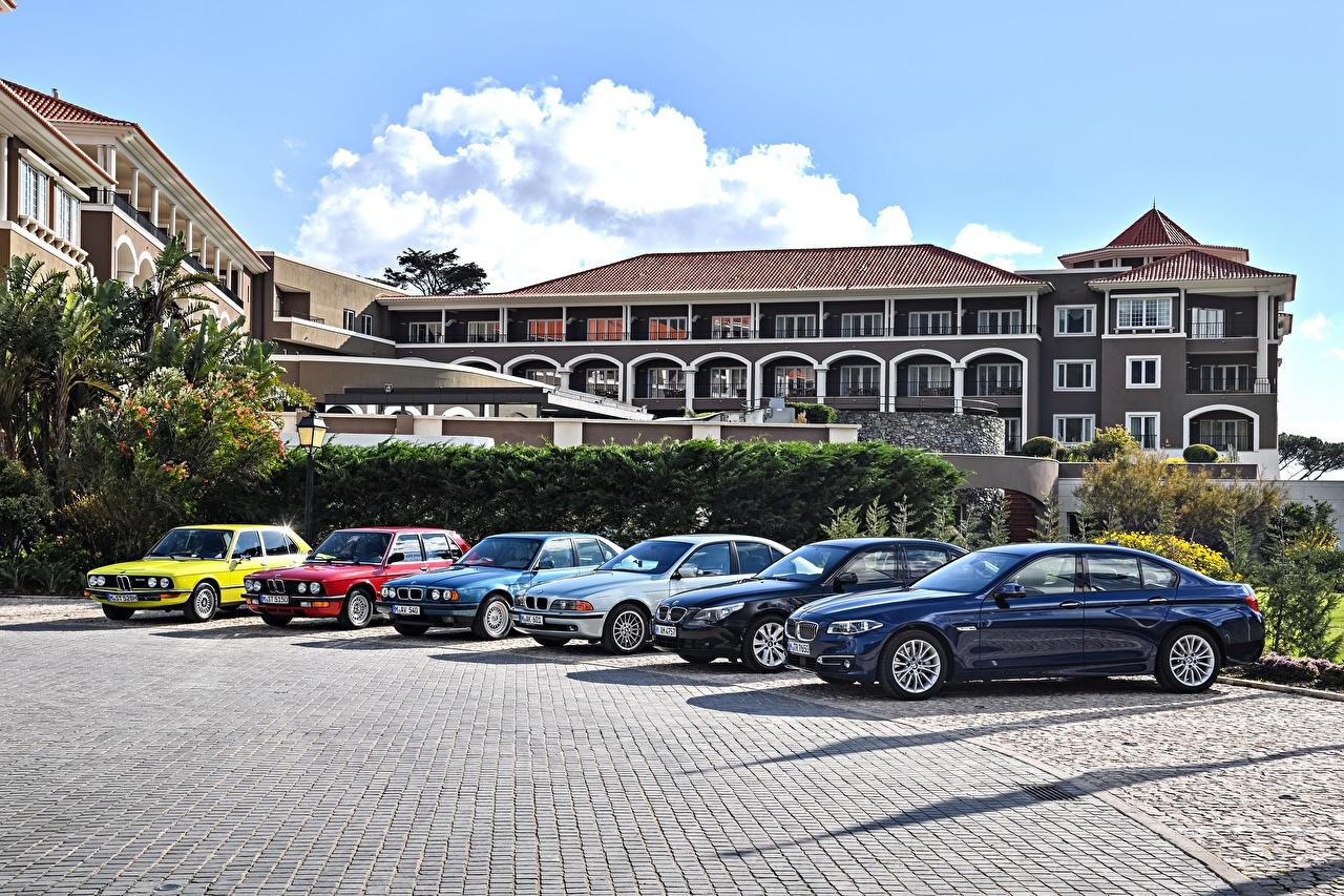 Images BMW 1972-2016 5 Series Metallic automobile Cars auto