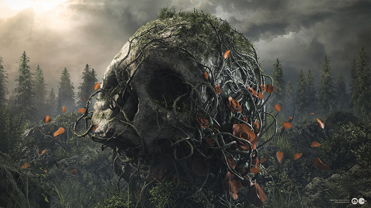 Fonds D Ecran Crane Gothique Fantasy Fantasy Telecharger Photo