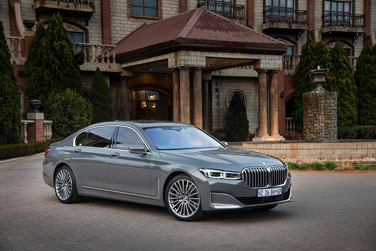 Photos BMW 2019 750Li xDrive gray Cars Metallic Grey auto automobile
