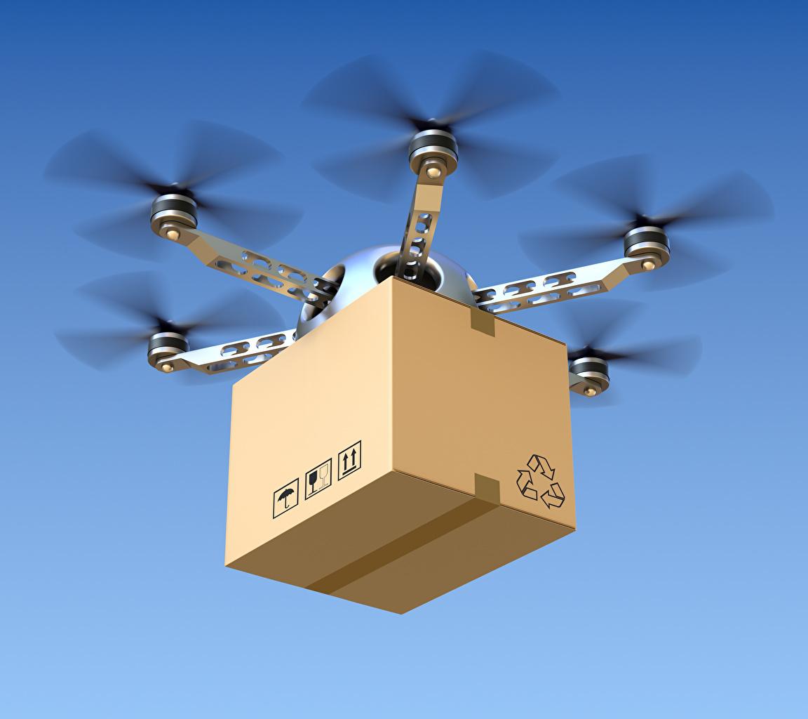 Bilder von UAV hexacopter Schachtel Flug Luftfahrt