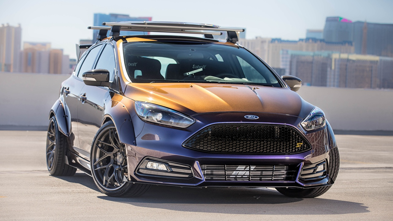 Photos Ford Tuning Blood Type Racing, Focus ST Cars Front auto automobile