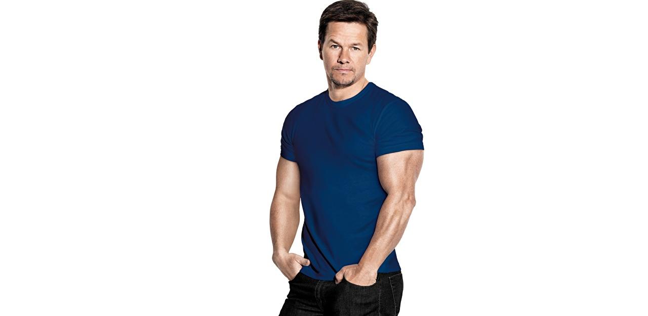 Picture Mark Wahlberg Men Celebrities White background Man