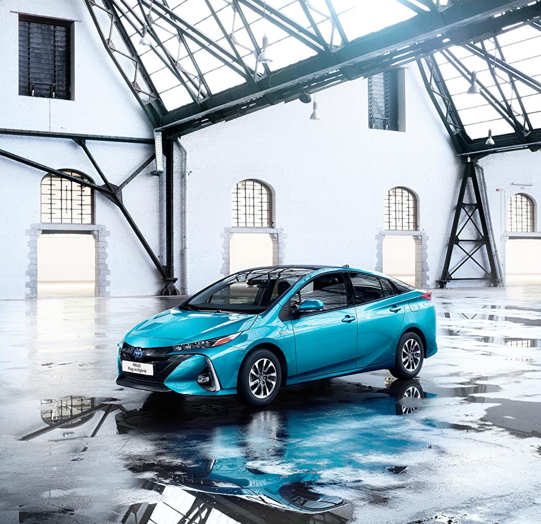 Toyota Hybrid 2016: Papeis De Parede Toyota 2016 Prius Plug-in Hybrid Celeste