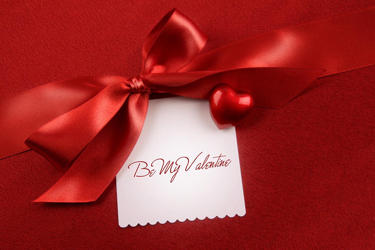 Hintergrundbilder Valentinstag Englisch Blatt Papier Band Schleife Roter Hintergrund