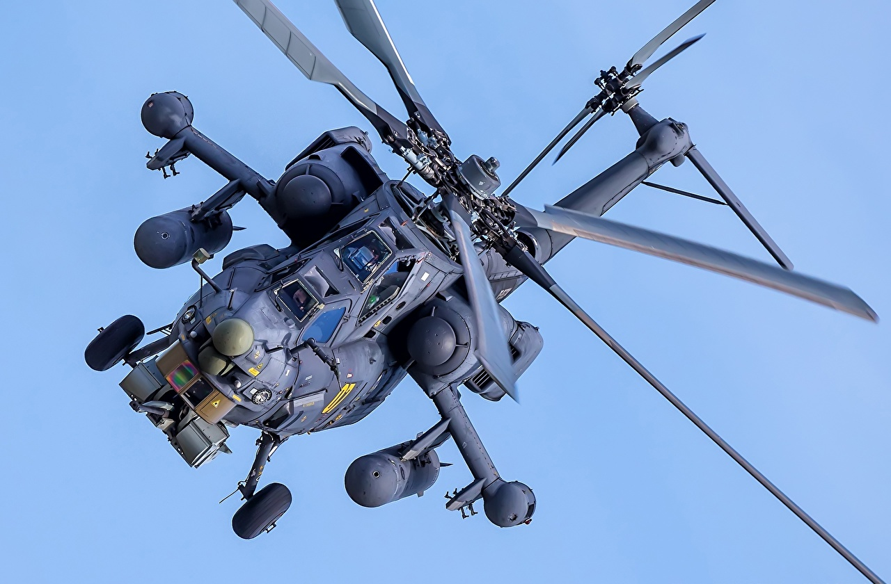 Photos helicopter Russian Mil Mi-28H Aviation Helicopters
