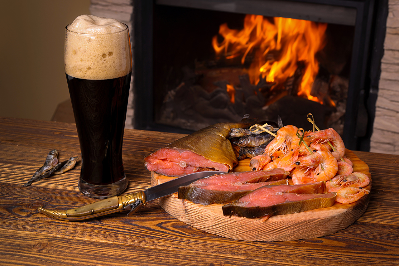 Picture Beer Shrimp Fireplace Fish - Food Highball glass Food Foam Drinks Caridea