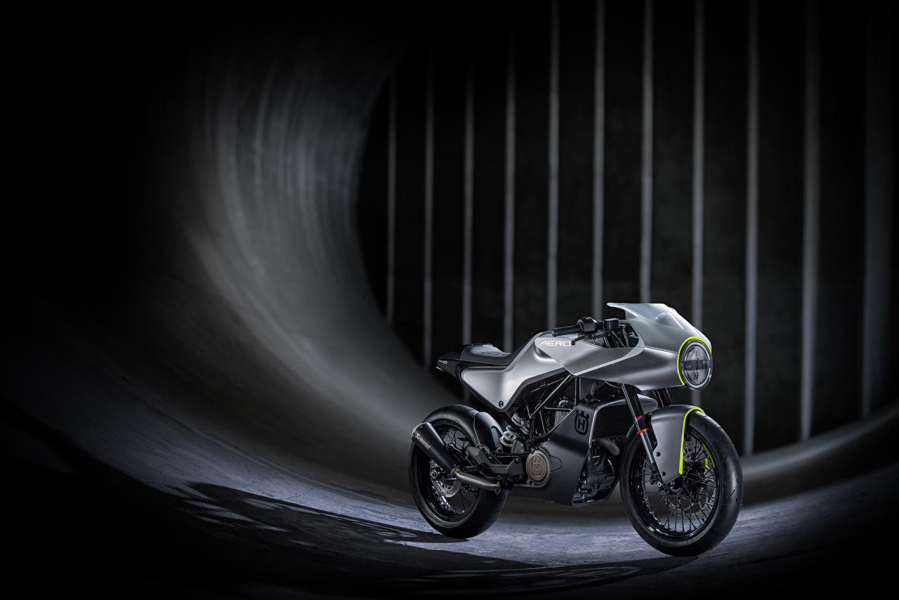 Bilder 2016 Husqvarna Vitpilen 401 Aero Concept Motorräder Seitlich Motorrad