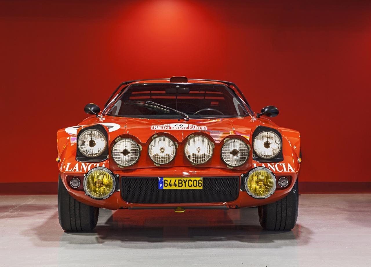 Desktop Wallpapers Lancia Stratos, Rally Car Cars Front Headlights auto automobile