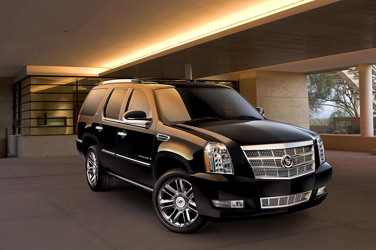 Images Tuning Cadillac 2014 Escalade ESV Black Metallic automobile Cars auto