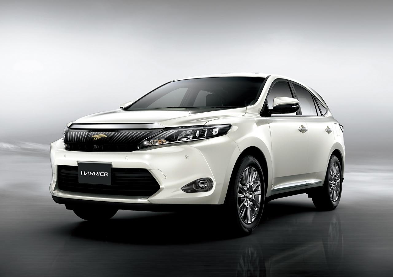 Wallpaper Toyota CUV White auto Metallic Crossover Cars automobile