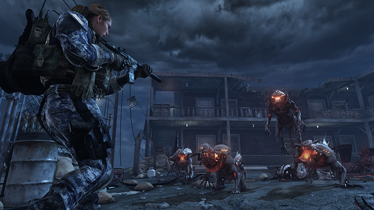 Photos Call Of Duty Call Of Duty Ghosts Monsters Warrior Assault