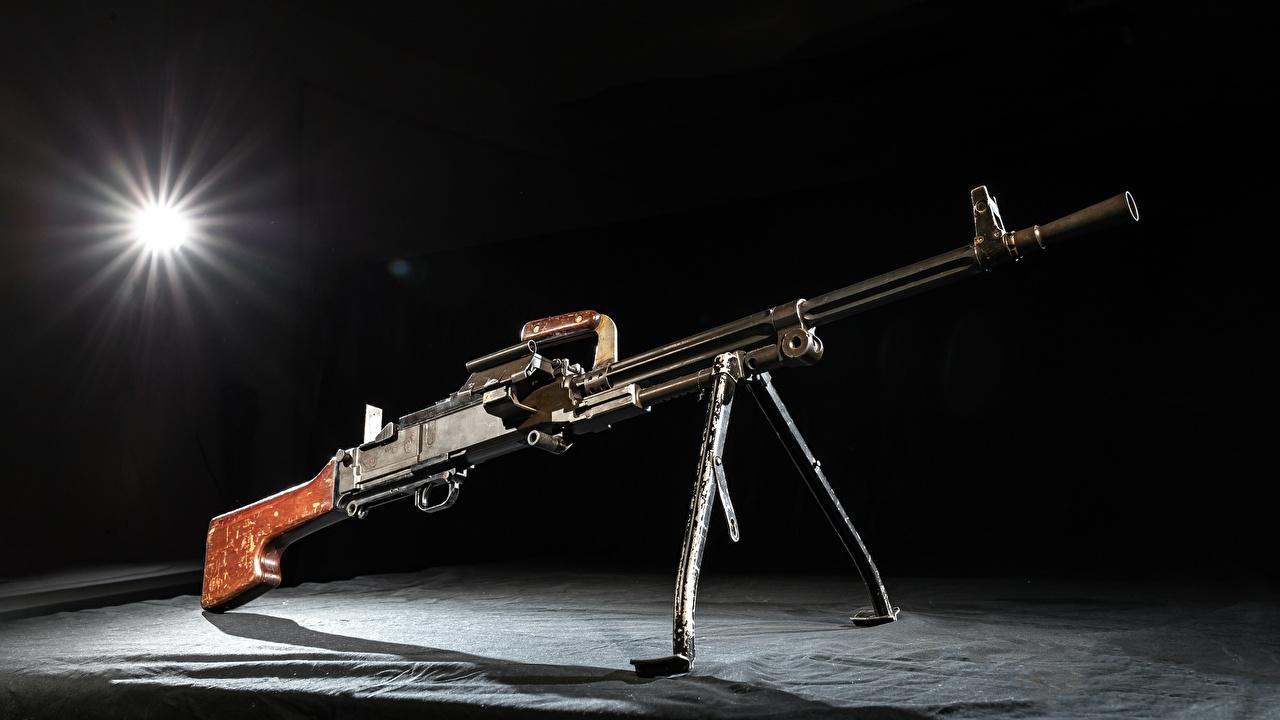 Foto Maschinengewehr russischer TKB-464 Heer Russische russisches Militär