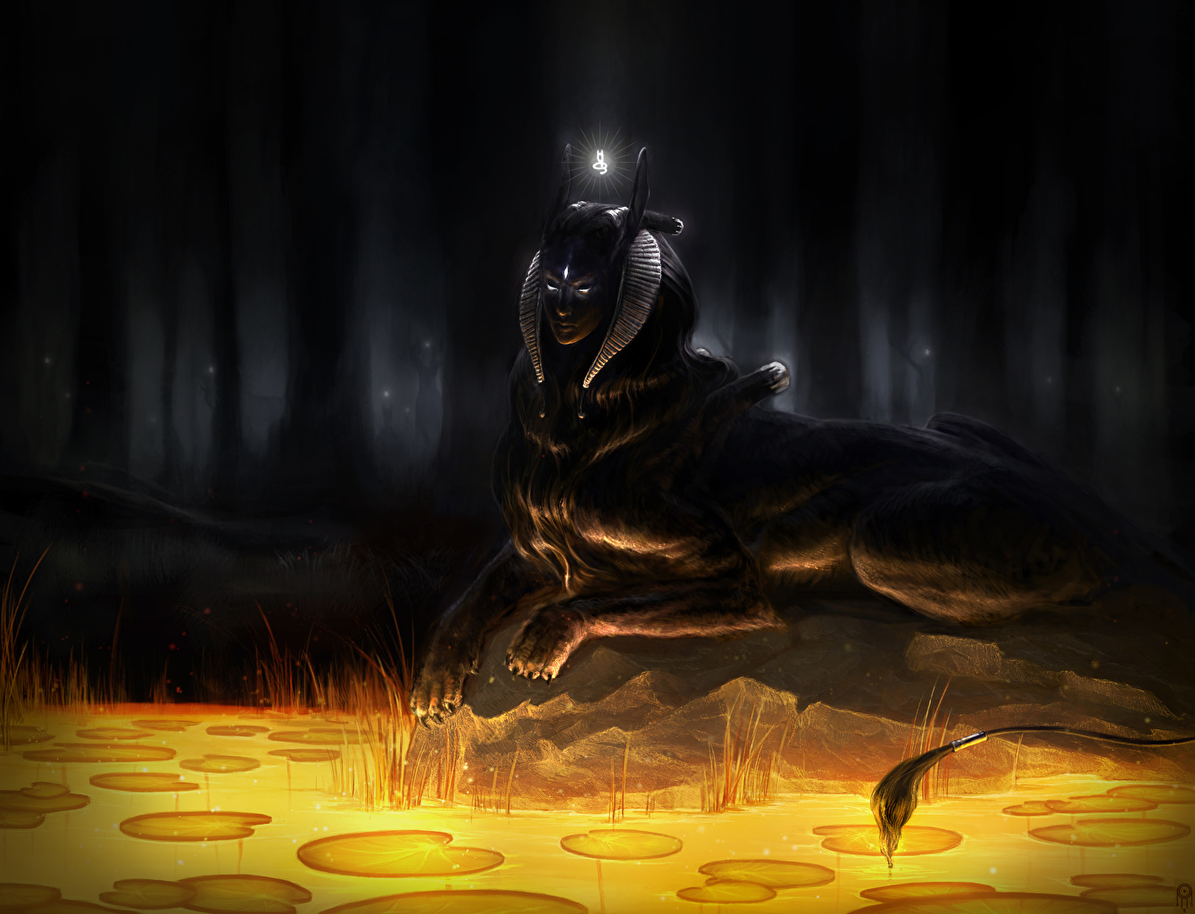 Картинки Фэнтези Сверхъестественные существа Фантастика