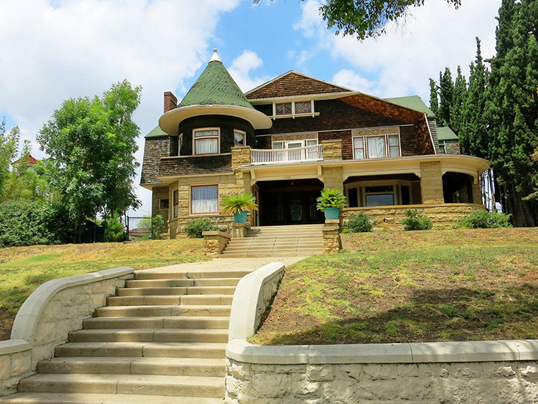 Fonds D Ecran Usa Maison Los Angeles Californie Manoir