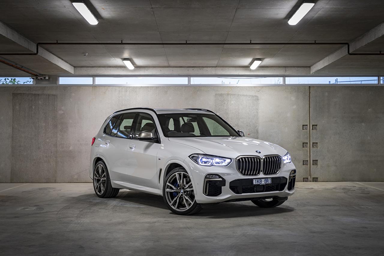 Bilde BMW CUV 2018-21 X5 M50d Grå Metallisk automobil Crossover bil Biler