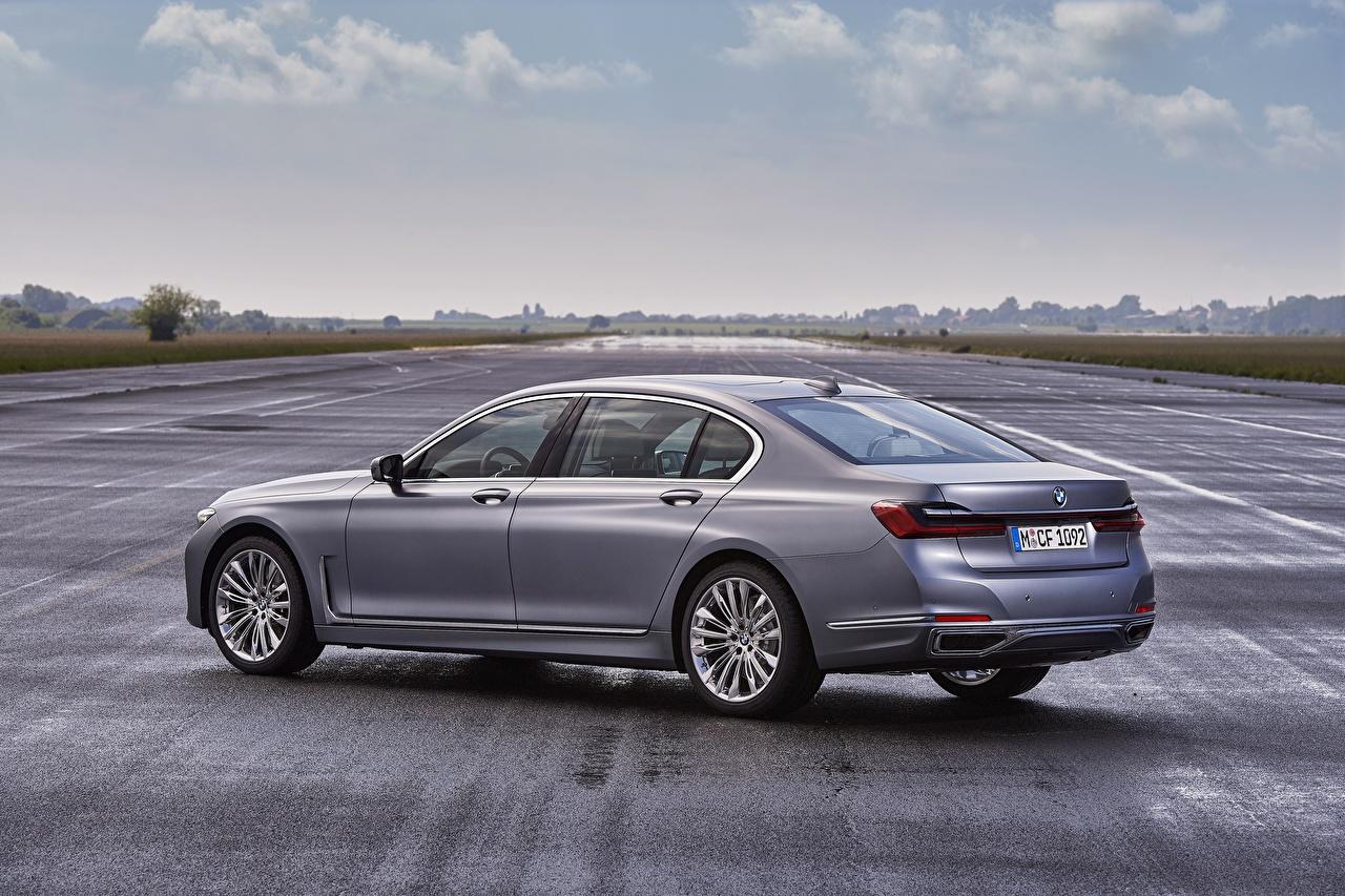 Photos BMW 7 series, G11/G12 Sedan gray auto Side Metallic Grey Cars automobile