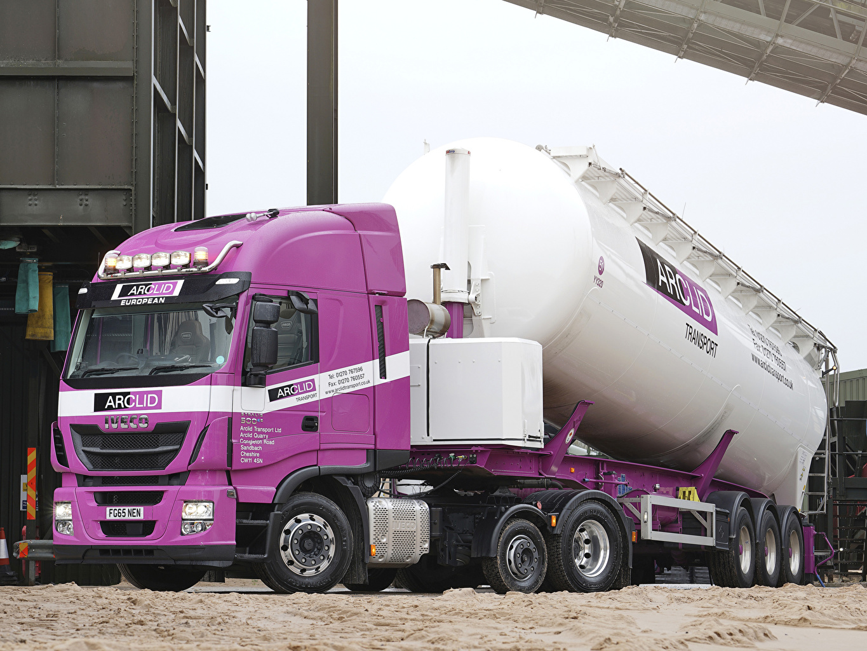 Image IVECO Trucks Violet automobile lorry Cars auto