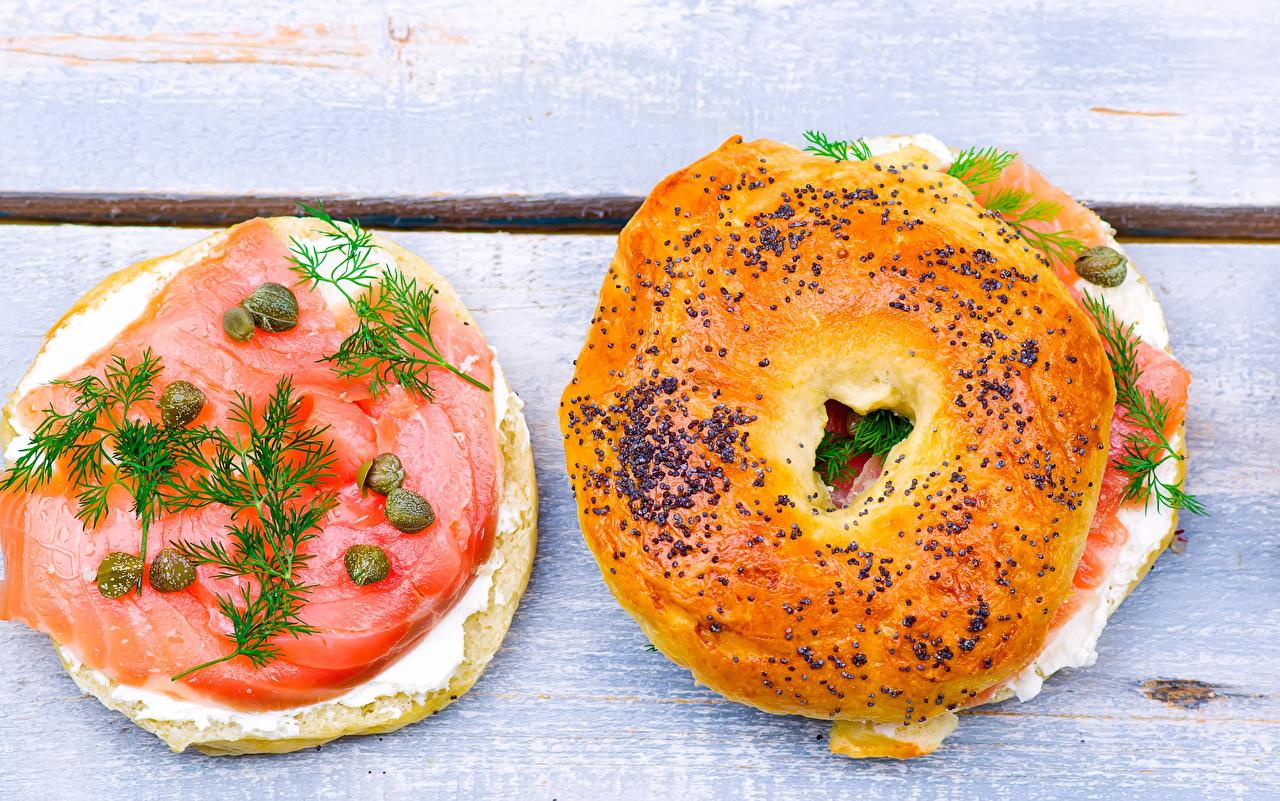 Immagine Due 2 Aneto Fast food Butterbrot Pesce - Cibo Panini dolci Cibo pesci alimento
