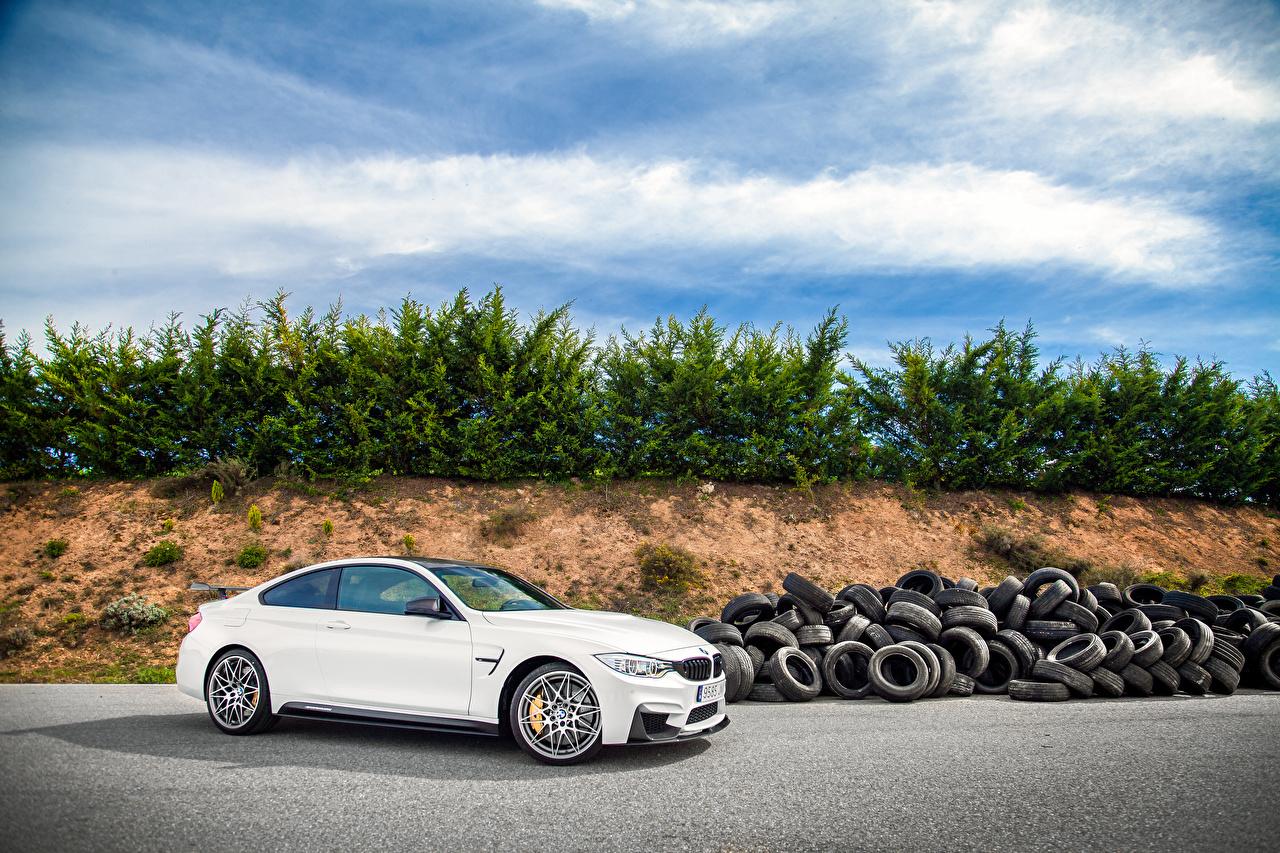 Photo BMW 2016 M4 Coupe Competition Sport Edition White Cars auto automobile