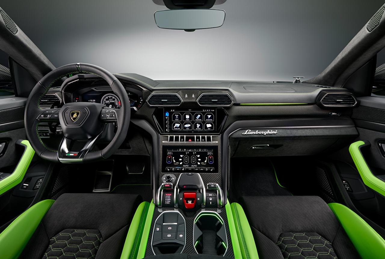 Lamborghini Salons Urus, Pearl Capsule, 2020 Volant directionnel voiture, automobile Voitures