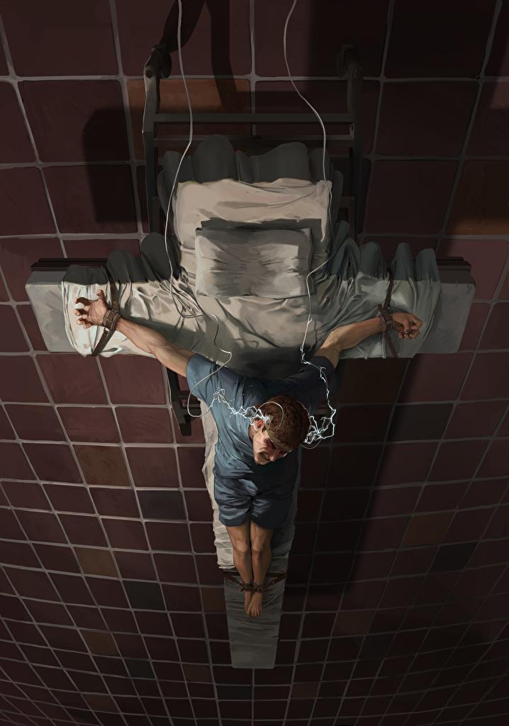 Обои для рабочего стола мужчина Фэнтези креста  для мобильного телефона Мужчины Фантастика Крест крестов