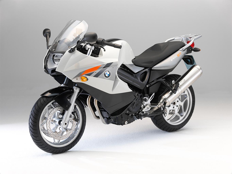 Bilder BMW - Motorrad Motorrad Silber Farbe Motorräder