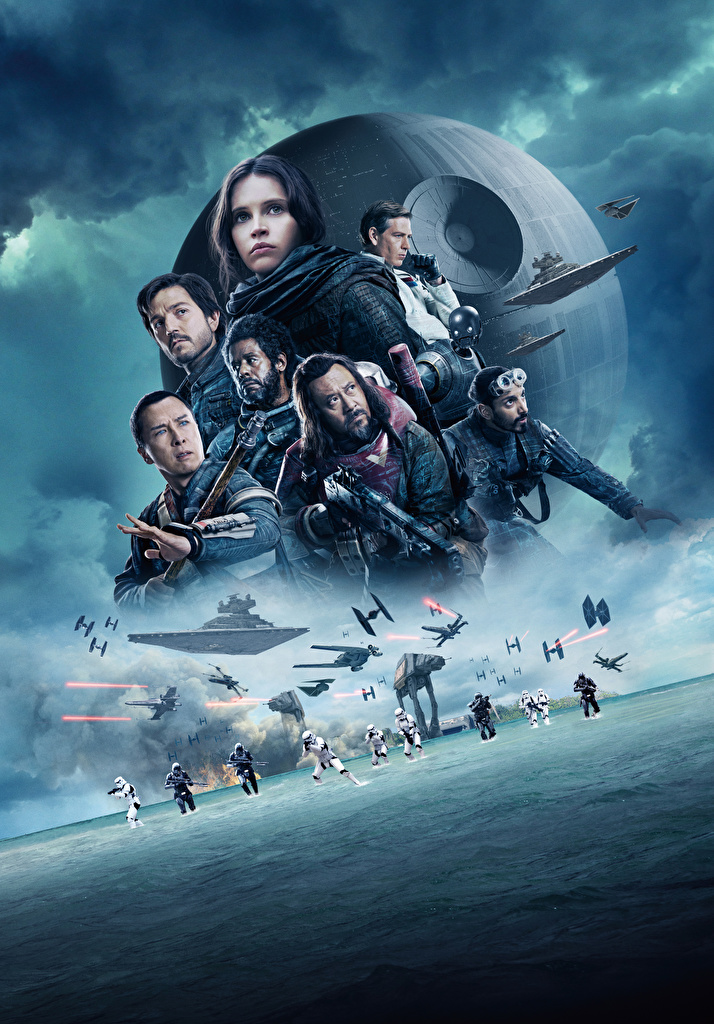 Image Rogue One: A Star Wars Story Felicity Jones Clone trooper Warriors Forest Whitaker, Ben Mendelsohn, Donnie Yen, Diego Luna, Riz Ahmed, Wen Jiang film Celebrities  for Mobile phone warrior Movies