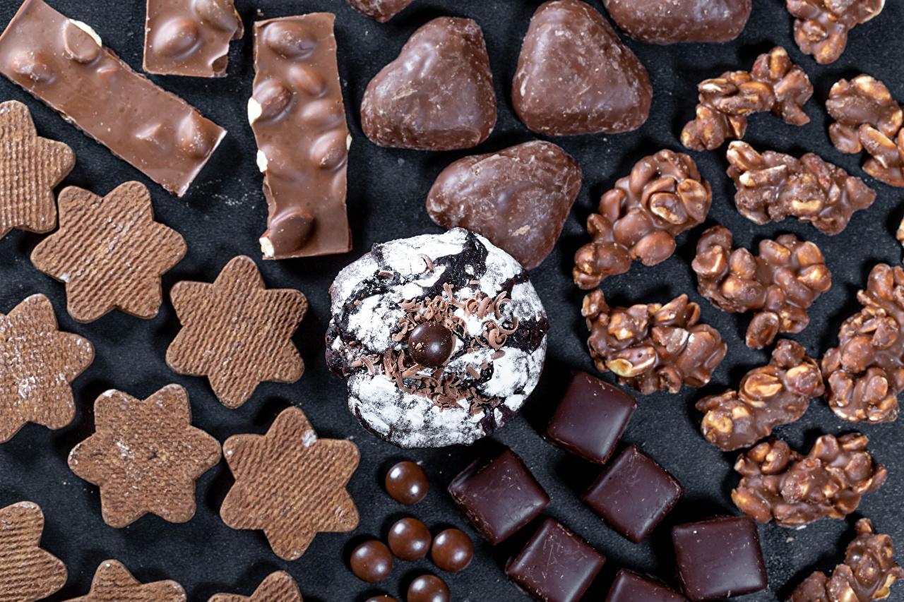 壁紙 菓子 クッキー キャンディ チョコレート 食品 ダウンロード