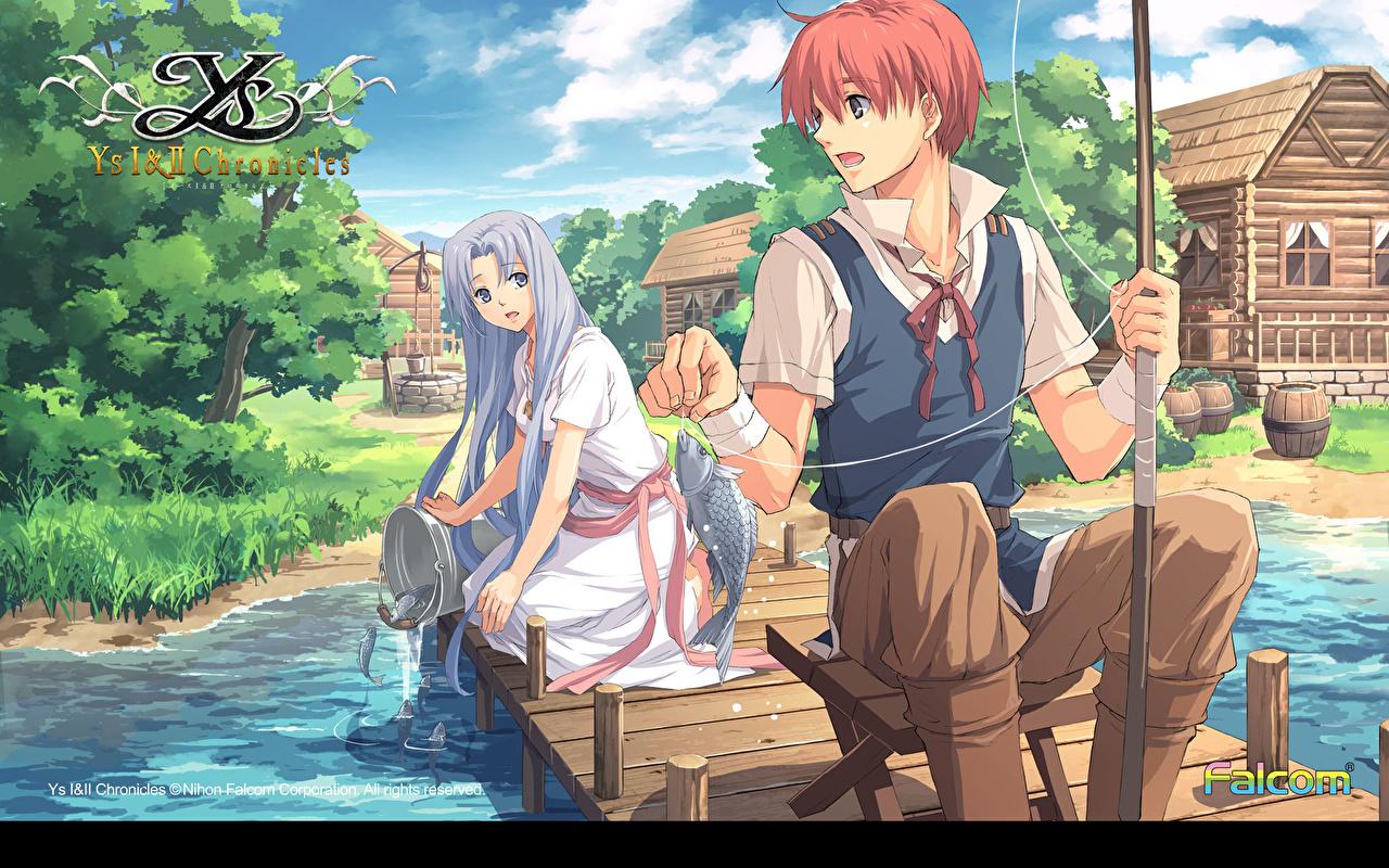 壁紙 イースシリーズ イースiiコンプリート ゲーム 少女