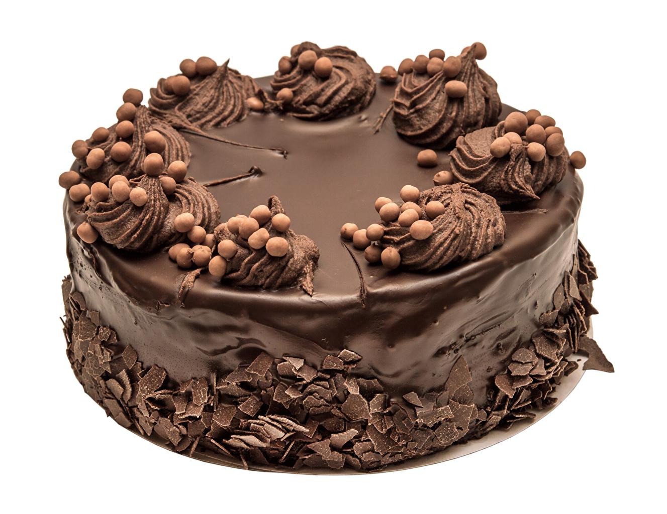 Foto Schokolade Torte Lebensmittel Süßware Weißer hintergrund Design Süßigkeiten
