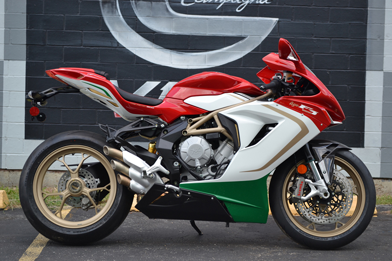 Photo 2014-20 MV Agusta F3 800 AGO motorcycle Side Motorcycles