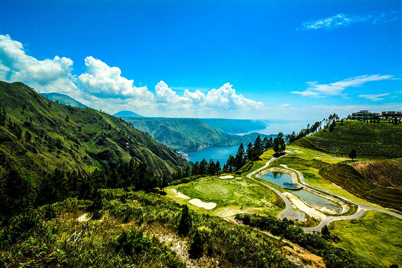 Desktop Wallpapers Indonesia Lake Toba Sumatra Nature