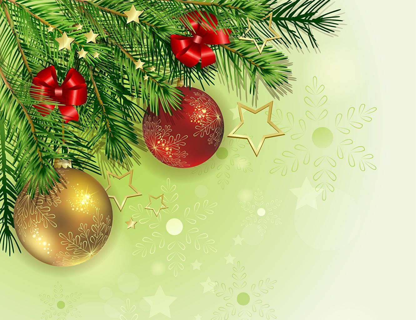 Weihnachtsbaum Ast.Fotos Neujahr Weihnachtsbaum Ast Kugeln Feiertage
