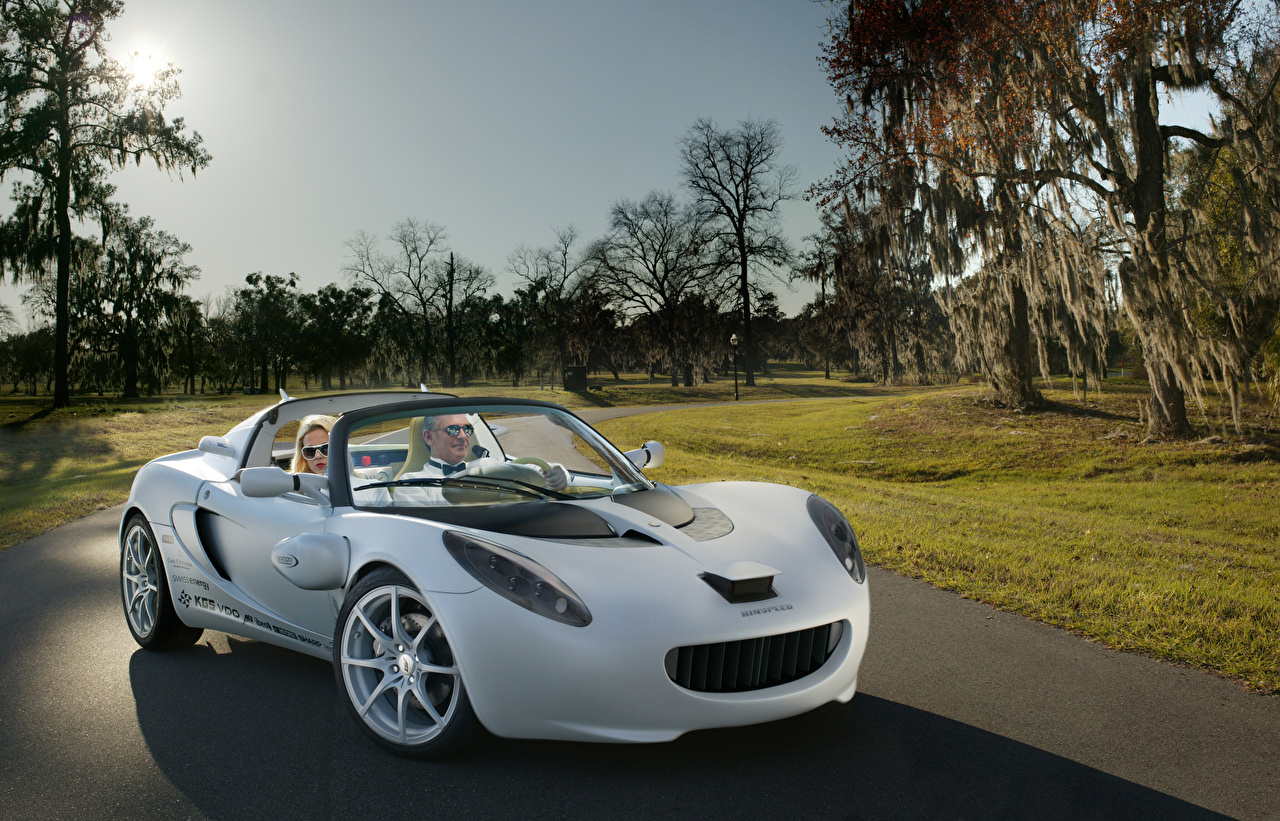 Wallpaper Lotus 2008 Rinspeed sQuba Convertible White Cars Cabriolet auto automobile
