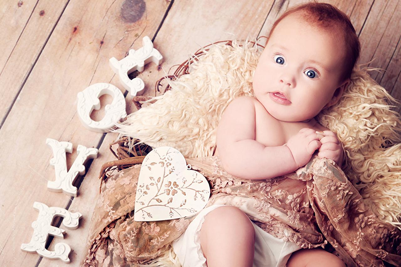 Desktop Wallpapers Newborn Beautiful Little Girl Happy Baby Children