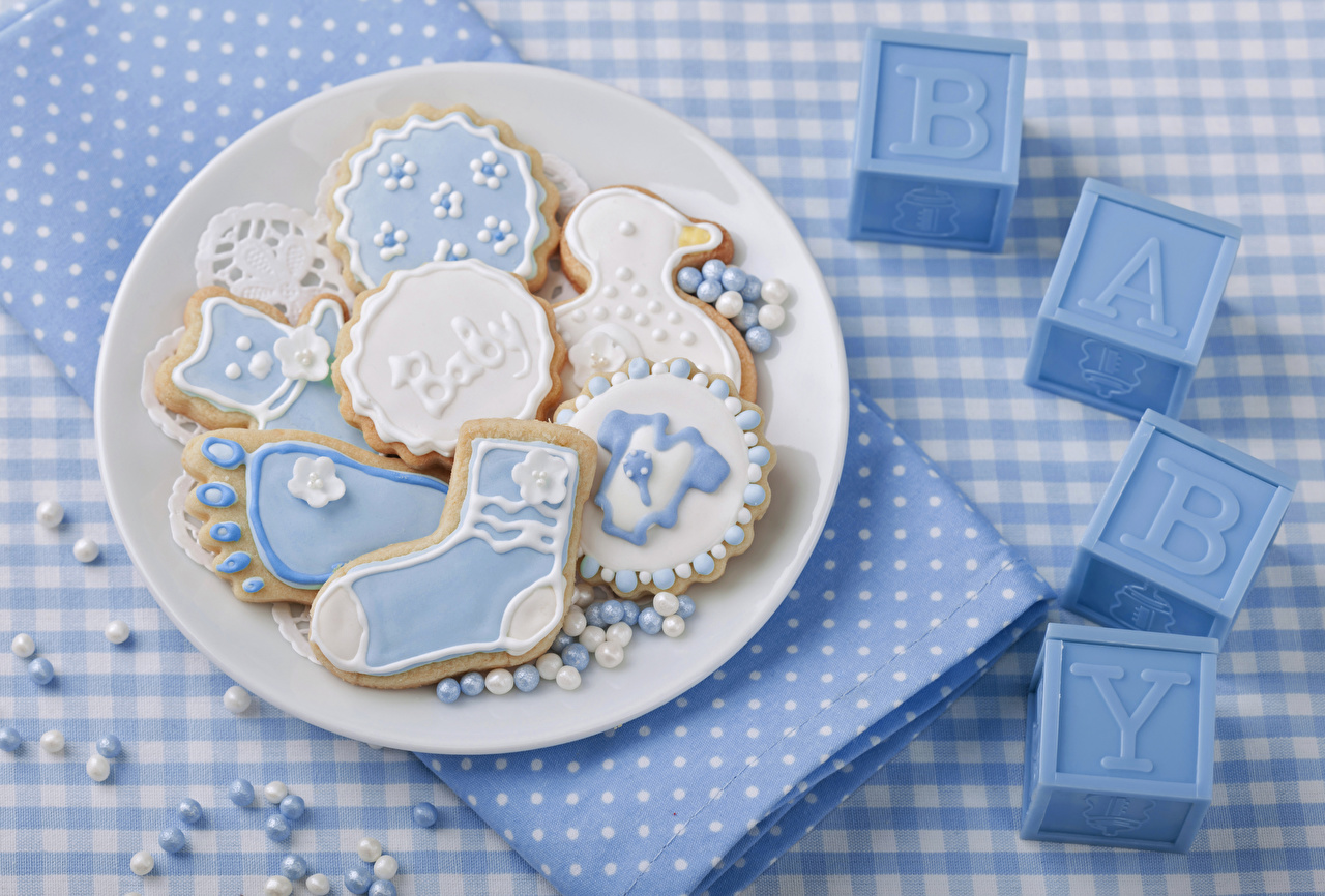 Pictures Food Plate Cookies Design