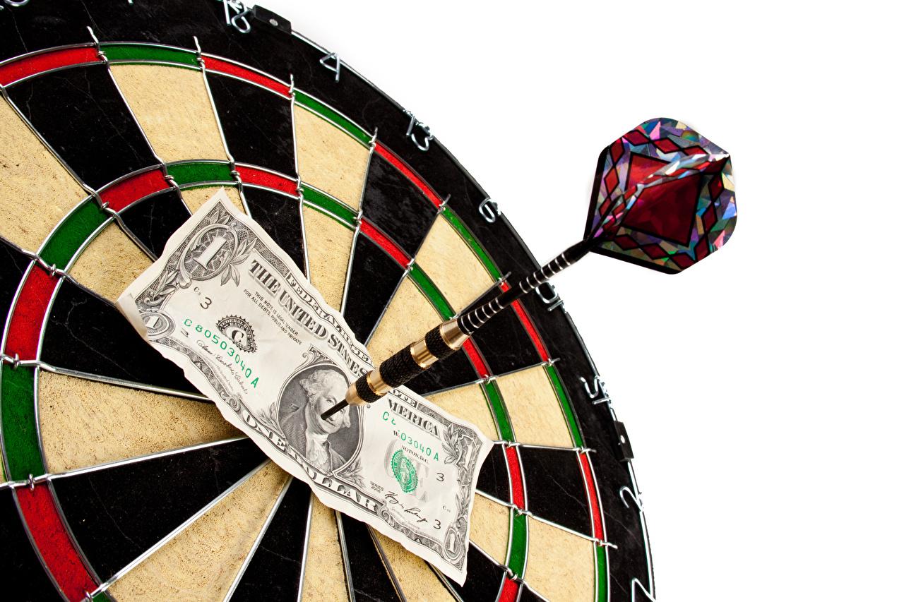 Image Dollars Paper money Darts Shooting target 1 Banknotes