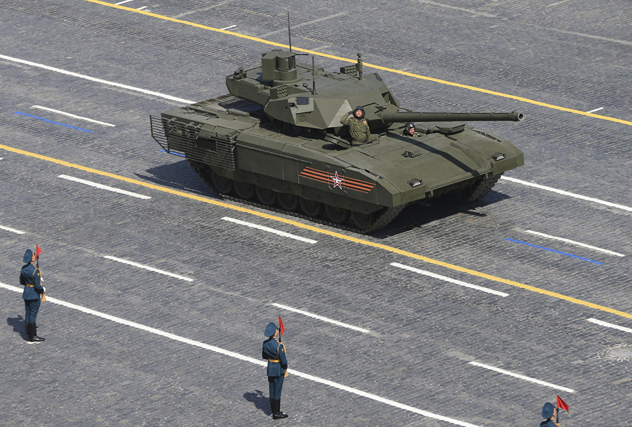 Pictures tank Russian 2015-18 T-14 Armata military Tanks Army
