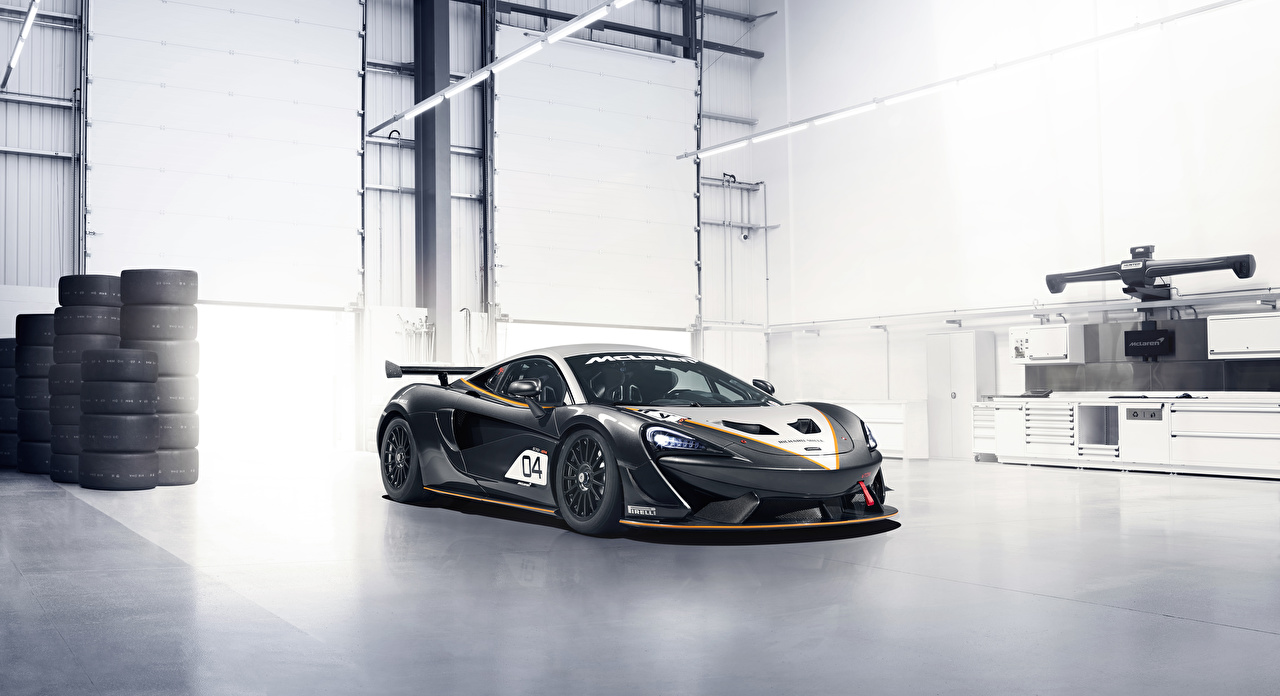 Picture Tuning McLaren 2016-20 570S GT4 gray Cars Grey auto automobile