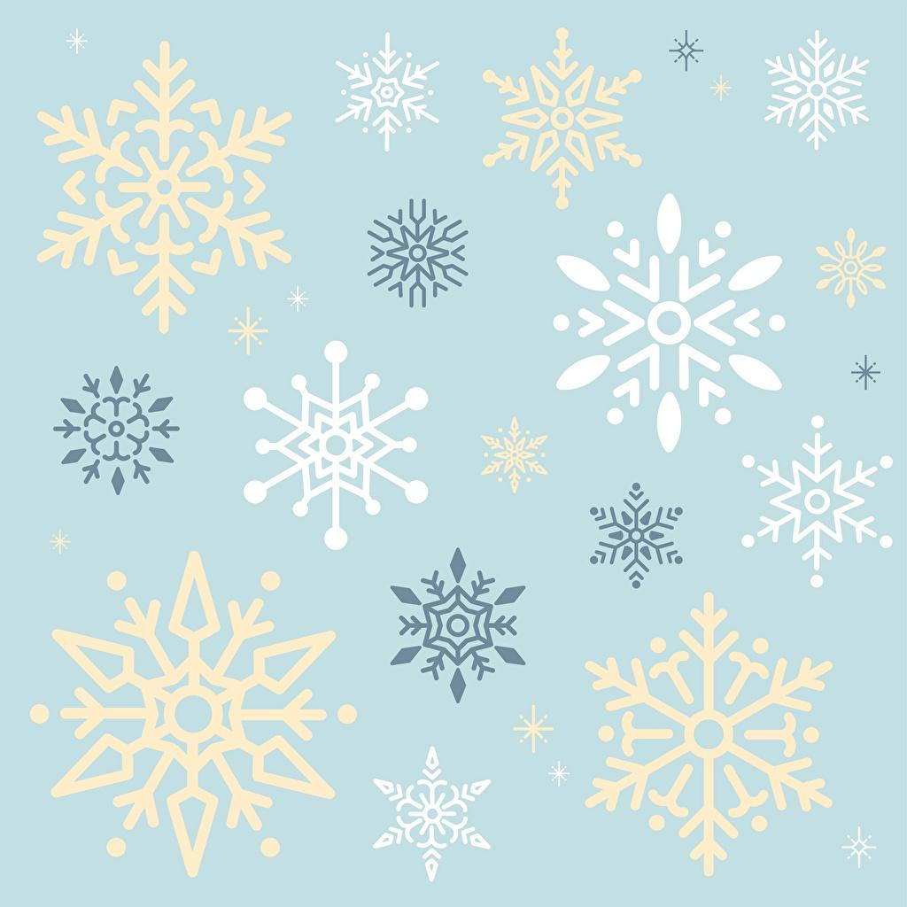 Wallpaper Texture Snowflakes
