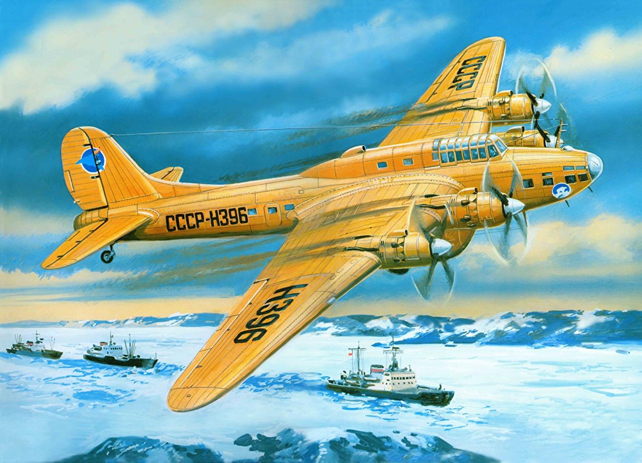Обои бомбардировщик, Самолёт. Авиация foto 19