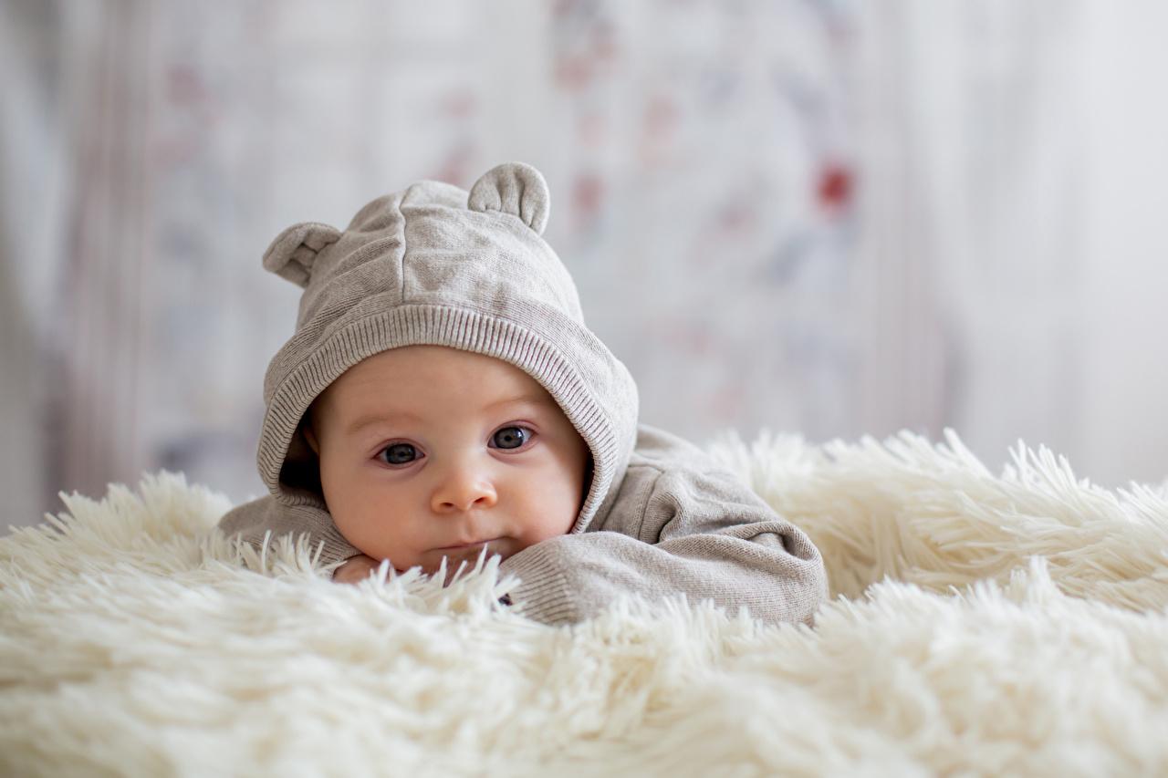 壁紙 赤ちゃん 暖かい帽子 凝視 子供 ダウンロード 写真