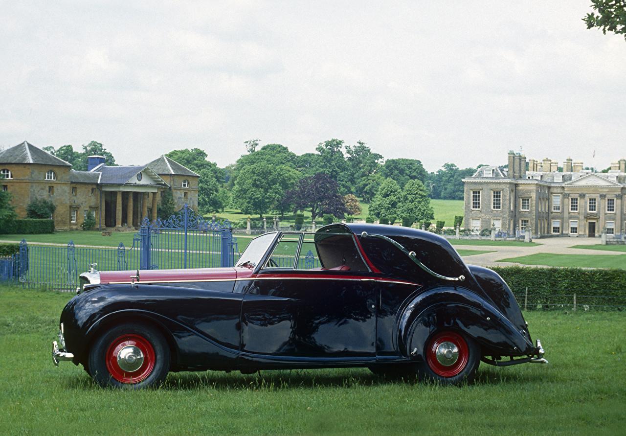 Pictures Bentley 1949 Mark VI Sedanca Coupe by Gurney Nutting antique Side Metallic automobile Retro vintage Cars auto