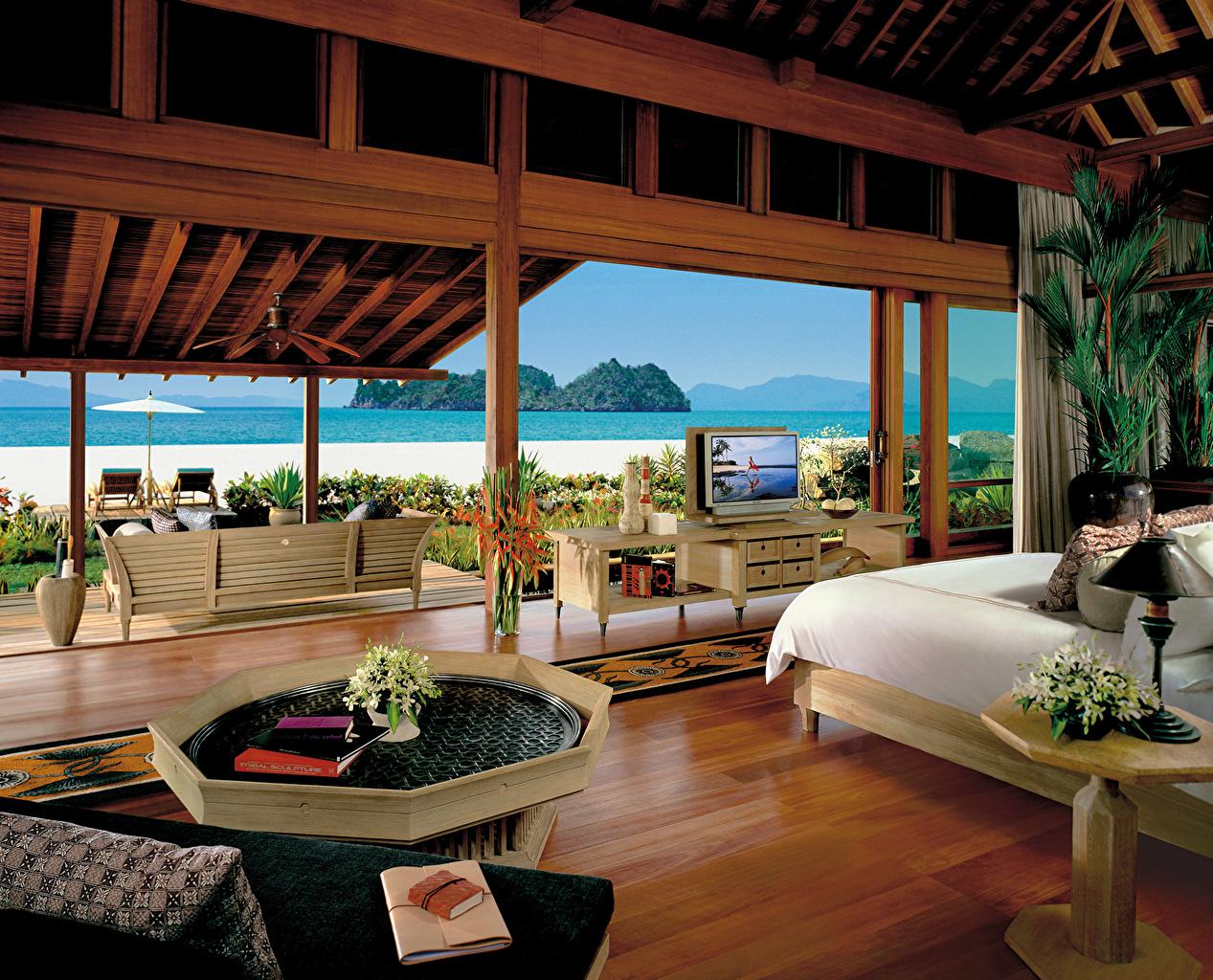 、インテリア、リゾート、マレーシア、島、villa、デザイン、、